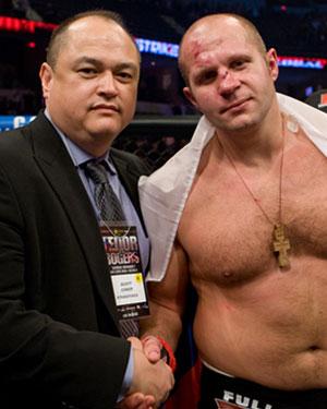 Проигравший в бою Фёдор - Хендо может быть уволен из Strikeforce