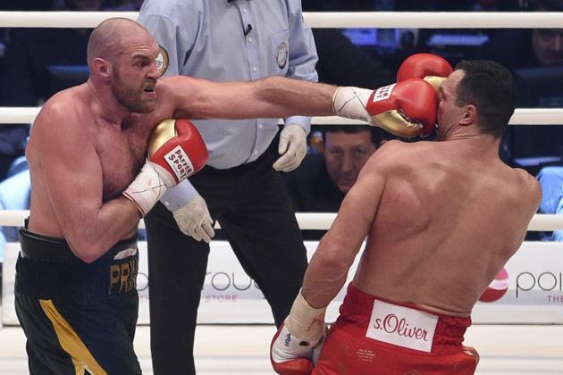 Посмотрец бокс в записе кличко с фьюри