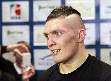 Александр Усик планирует провести следующий бой на