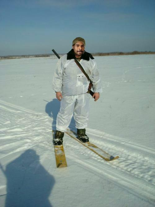 лыжа рыбака